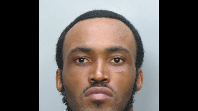 FILE - This undated file booking photo made available by the Miami-Dade Police Dept. shows Rudy Eugene, 31, who was shot and killed by Miami-Dade Police after he refused to stop eating another man's face in Miami on May 26, 2012. Lab tests detected only marijuana in the Eugene's system, the medical examiner said Wednesday, June 27, 2012, ruling out other street drugs including the components typically found in the stimulants known as bath salts. (AP Photo/Miami-Dade Police Dept., File)