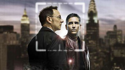Stars Michael Emerson and Jim Caviezel of 'Person of Interest' (CBS)