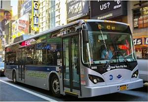 BYD and New YorkMetropolitan Transportation Authority (MTA) Complete a Successful Pilot of BYD All-Electric Bus