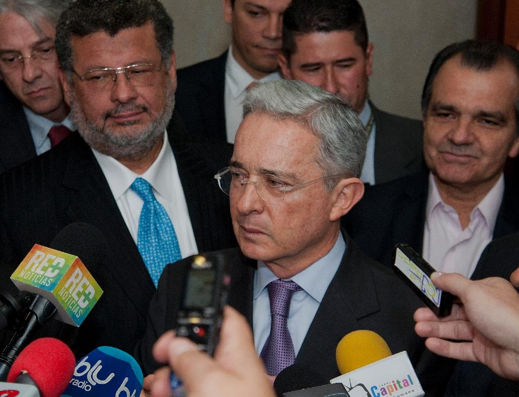 Colombian ex-president Uribe defends jailed allies