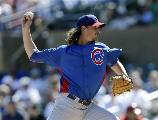 Samardzija homers in Cubs' 7-5 win over D-backs