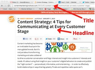 Compelling Content Titles: 12 Steps to Creating a Title Report image compelling content titles Title vs. headline