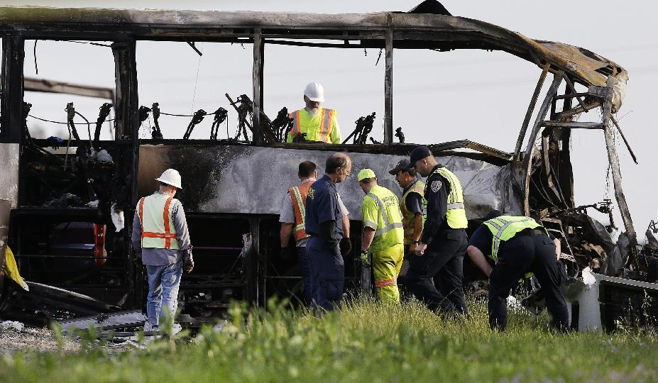 Results due for investigation of deadly California bus crash