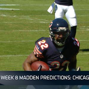 Week 8 Madden Predictions: Chicago Bears