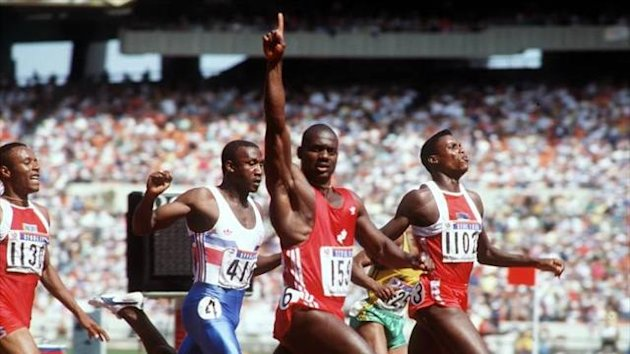 1988 Olympic Games Ben Johnson