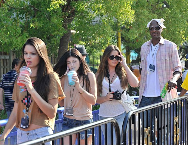 Kardashian Odom Universal Studios