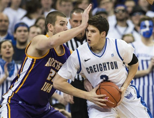 McDermott's 31 leads No. 12 Creighton in 79-68 win