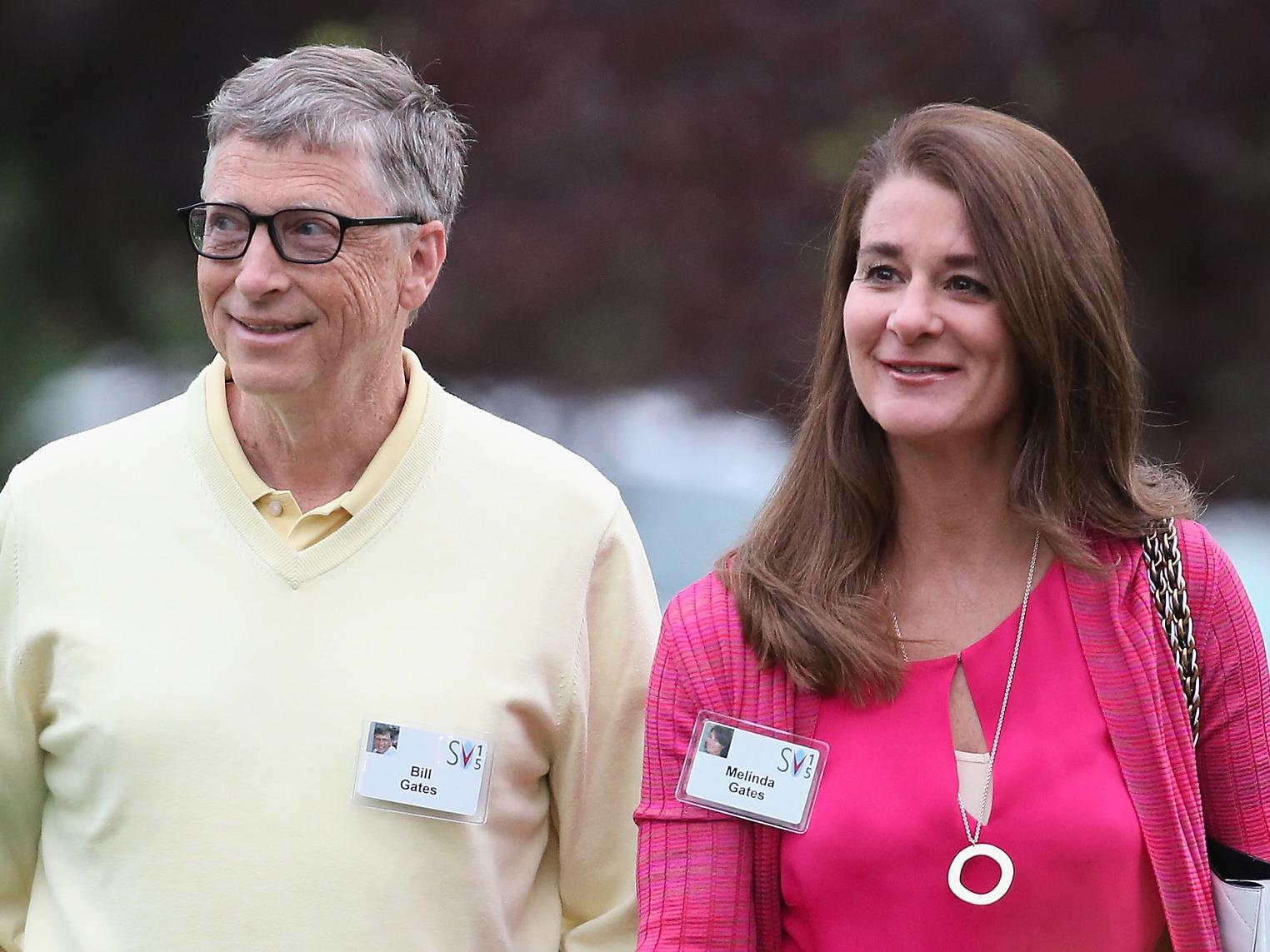 Melinda Gates fell in love with Bill Gates for his 'brilliant mind' and 'huge sense of fun'
