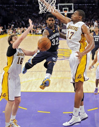 Lakers beat Grizzlies for 6th straight home win