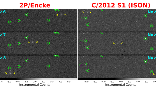 Two Comets Spotted by NASA Spacecraft Orbiting Mercury (Photo)