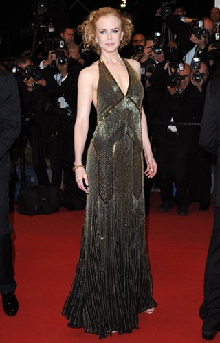 Who: Nicole Kidman What: Beaded Ralph Lauren gown Where: Hemingway and Gellhorn premiere Why We Love It: With the upcoming film version of The Great Gatsby, prepare yourself for an uptick in art deco-