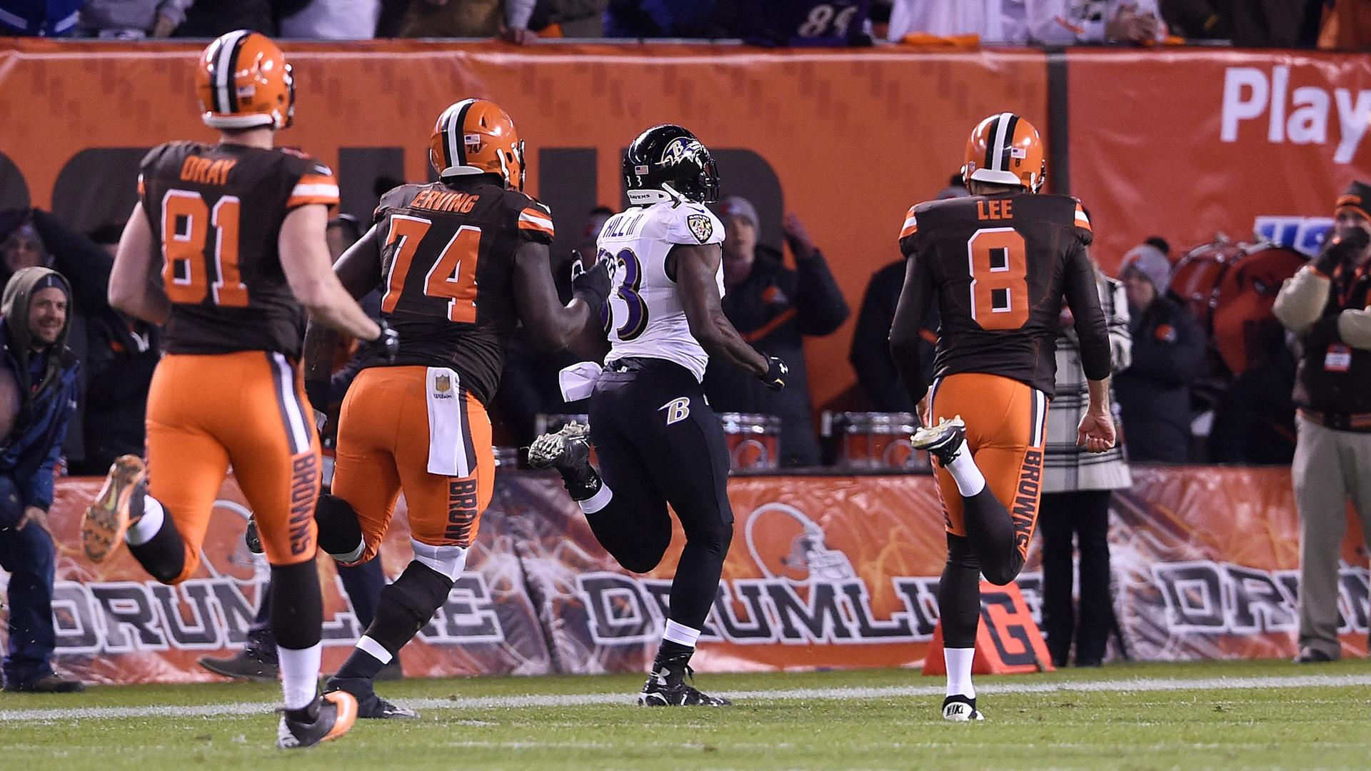 Ravens rally past Browns