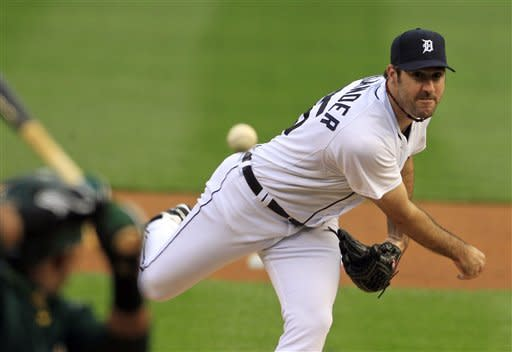 Verlander overpowers A's in Detroit's 3-1 win