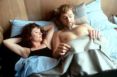 Jane Horrocks and David Morrissey in United Artists' Born Romantic