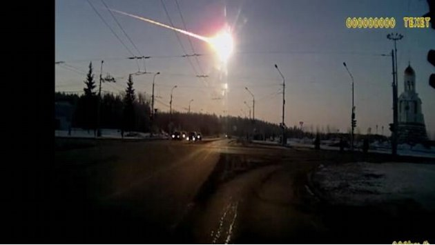 Meteor Crashes into Russian City Injuring Nearly 1,000