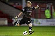 Aaron McCarey has signed for Walsall for an initial month's loan spell