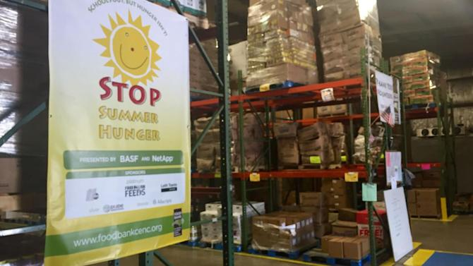 Food Bank of Central and Eastern N.C. Stop Summer Hunger campaign close to goal