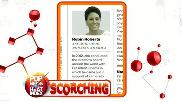 Robin Roberts Makes Ebony Magazine's Power 100 List
