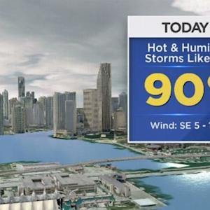 CBSMiami Weather @ Your Desk - 7/21/14 9:00 a.m.