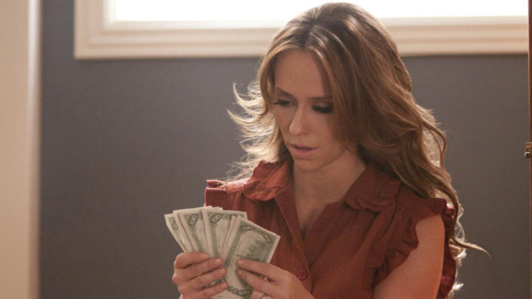 "Jennifer Love Hewitt stars as Riley Parks in ""The Client List."""