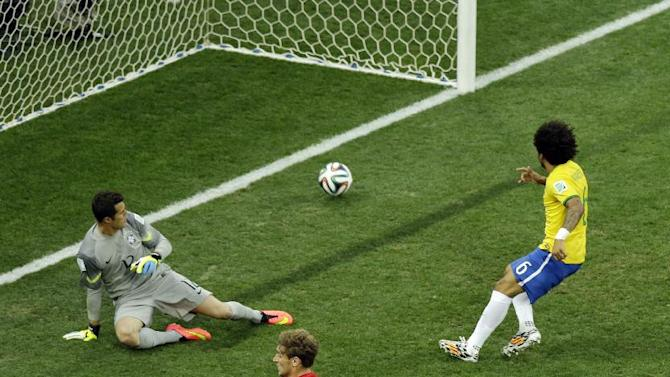 'Just relief' for Marcelo, Brazil after own goal