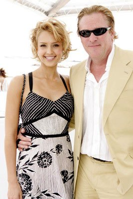 Jessica Alba and Michael MadsenMiramax Luncheon