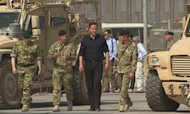Cameron In Afghanistan In Bid To Boost Morale