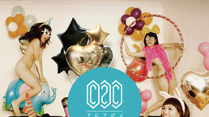 """This CD cover image released by Universal Republic Records shows """"Tetra,"""" by C2C. (AP Photo/Universal Republic Records)"""