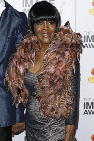 Cicely Tyson arrives at the 43rd NAACP Image Awards on Friday, Feb. 17, 2012, in Los Angeles. (AP Photo/Matt Sayles)