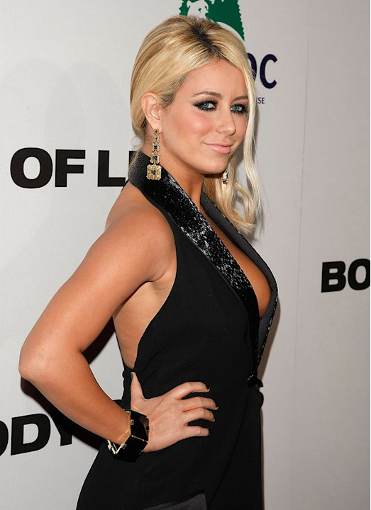 Body of Lies 2008 NY Premiere Aubrey O'Day