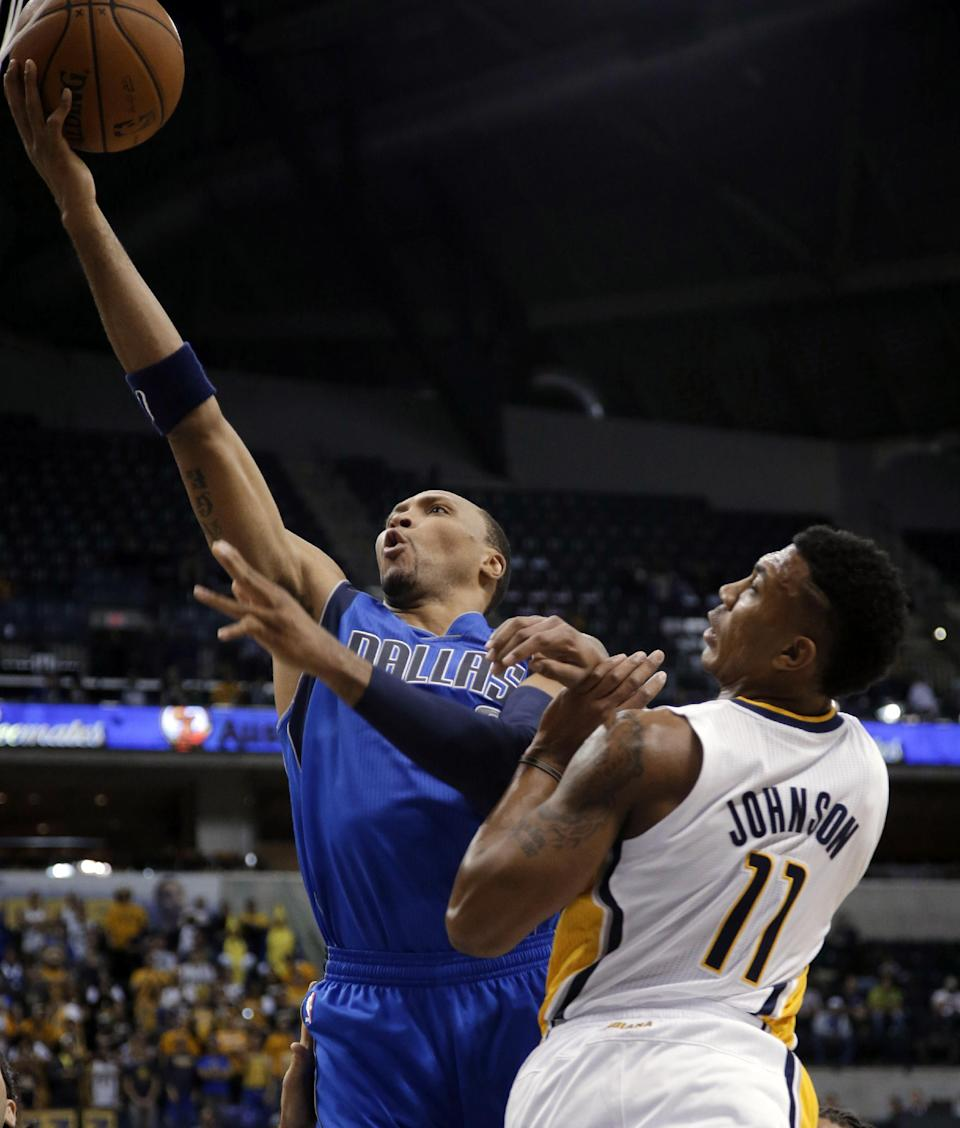 Mavericks top Pacers 92-85 in preseason