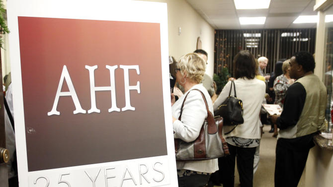 Grand Opening of the new AHF Healthcare Center in Dallas, Tex. Monday, December 3, 2012 in Fort Worth, Texas. (Richard W. Rodriguez /AP Images for AIDS Healthcare Foundation)