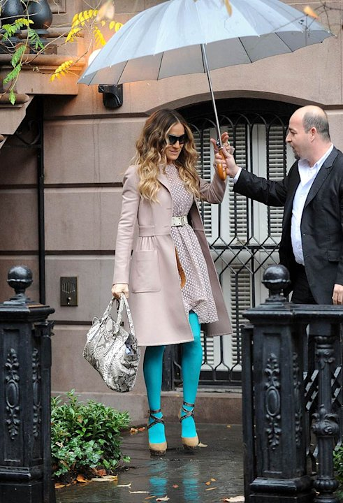 Sarah Jessica Parker Leaves Home