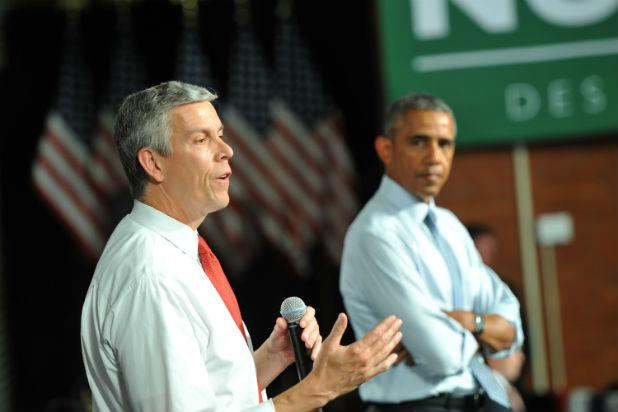 CAA Signs Former Education Secretary Arne Duncan