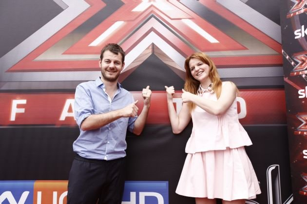 Alessandro Cattelan e Chiara Galiazzo