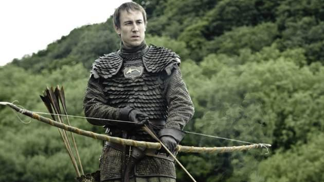 Tobias Menzies and Edmure Tully in 'Game of Thrones' Season 3 -- Helen Sloan/HBO