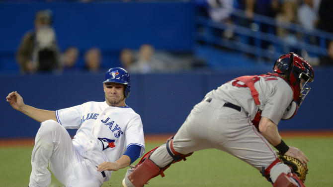 Red Sox use 8-run first to beat Jays 12-6