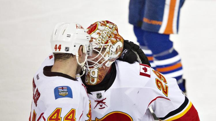 Flames top Oilers 2-1 in OT