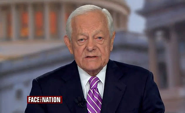 Bob Schieffer Signs Off 'Face The Nation'