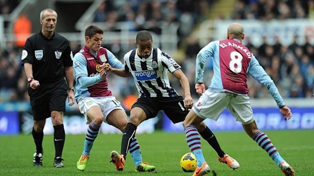 Loic Remy, centre, scored the only goal of the game (PA Photos)