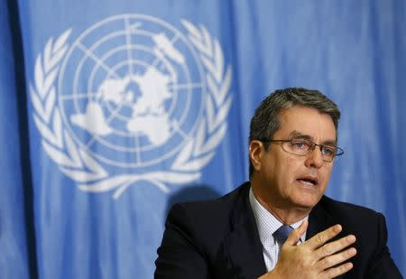 WTO talks stuck again as ministers prepare to meet, Azevedo says