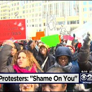 Protesters Demand Funding For Childcare Assistance