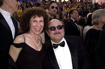 Rhea Perlman and Danny DeVito 73rd Academy Awards Los Angeles, CA  3/25/2001