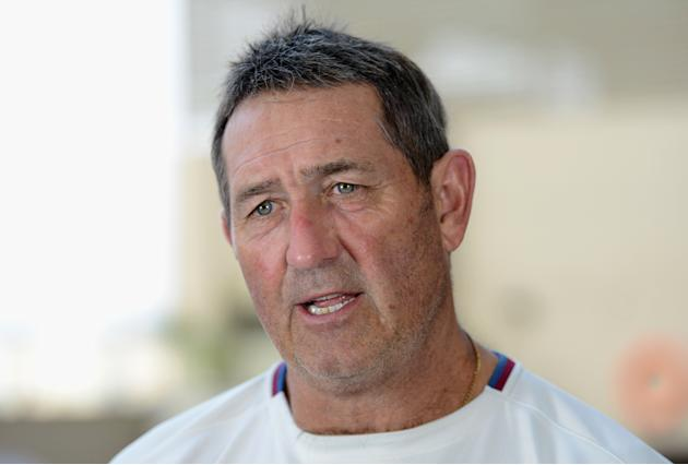 Graham Gooch Press Conference In Ahmedabad