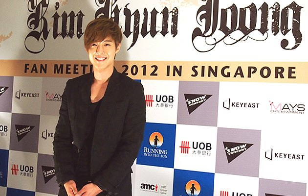 Kim Hyun Joong's Press Conference May 2012 (Yahoo! Photos / Elizabeth Soh)