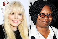Lindsay Lohan, Whoopi Goldberg | Photo Credits: Michael Kovac/WireImage, Bruce Glikas/FilmMagic