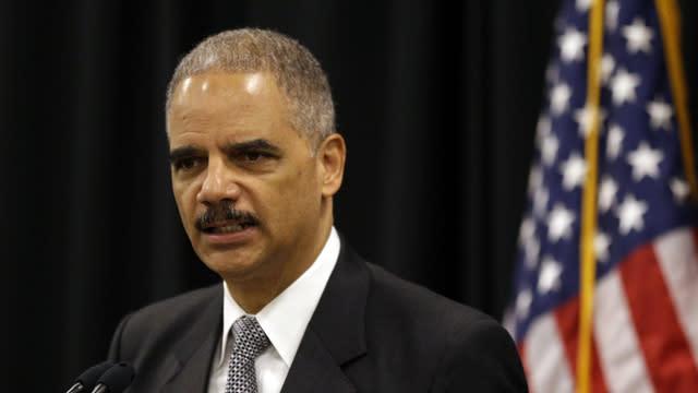 Holder: Home-Grown Terrorists Threat Rivals Overseas