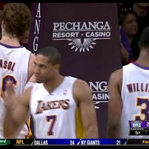 Lakers Handle Kings 100-86