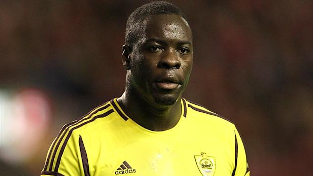 Anzhi's Christopher Samba feels Zenit supporters group Landscrona are 'living in another century'