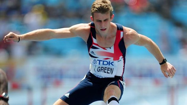 Great Britain's Jack Green in action